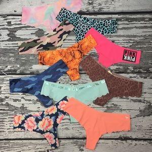 PINK Victoria's Secret - No Show Panties - M